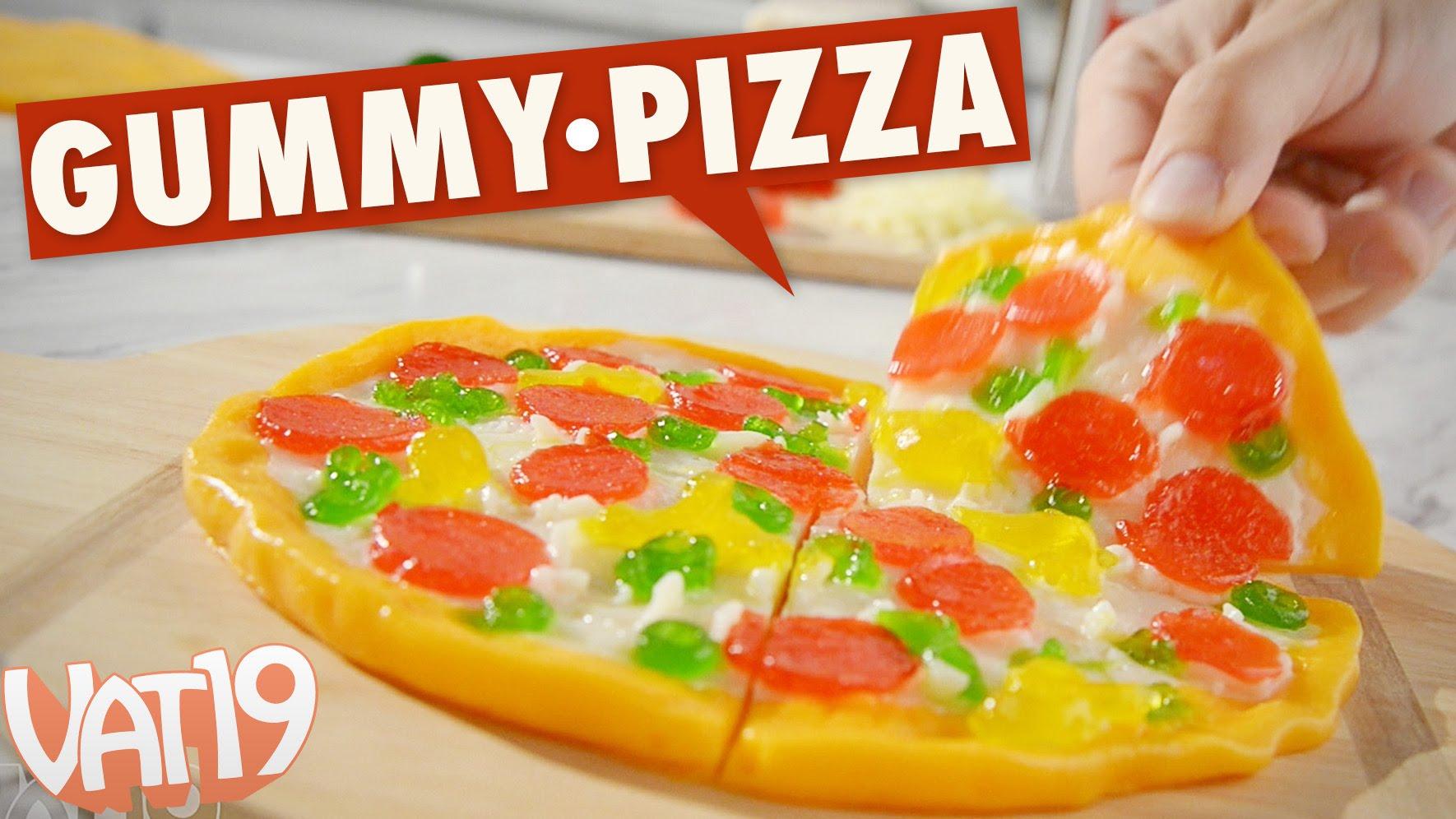 童年回憶放大版!巨無霸比薩軟糖