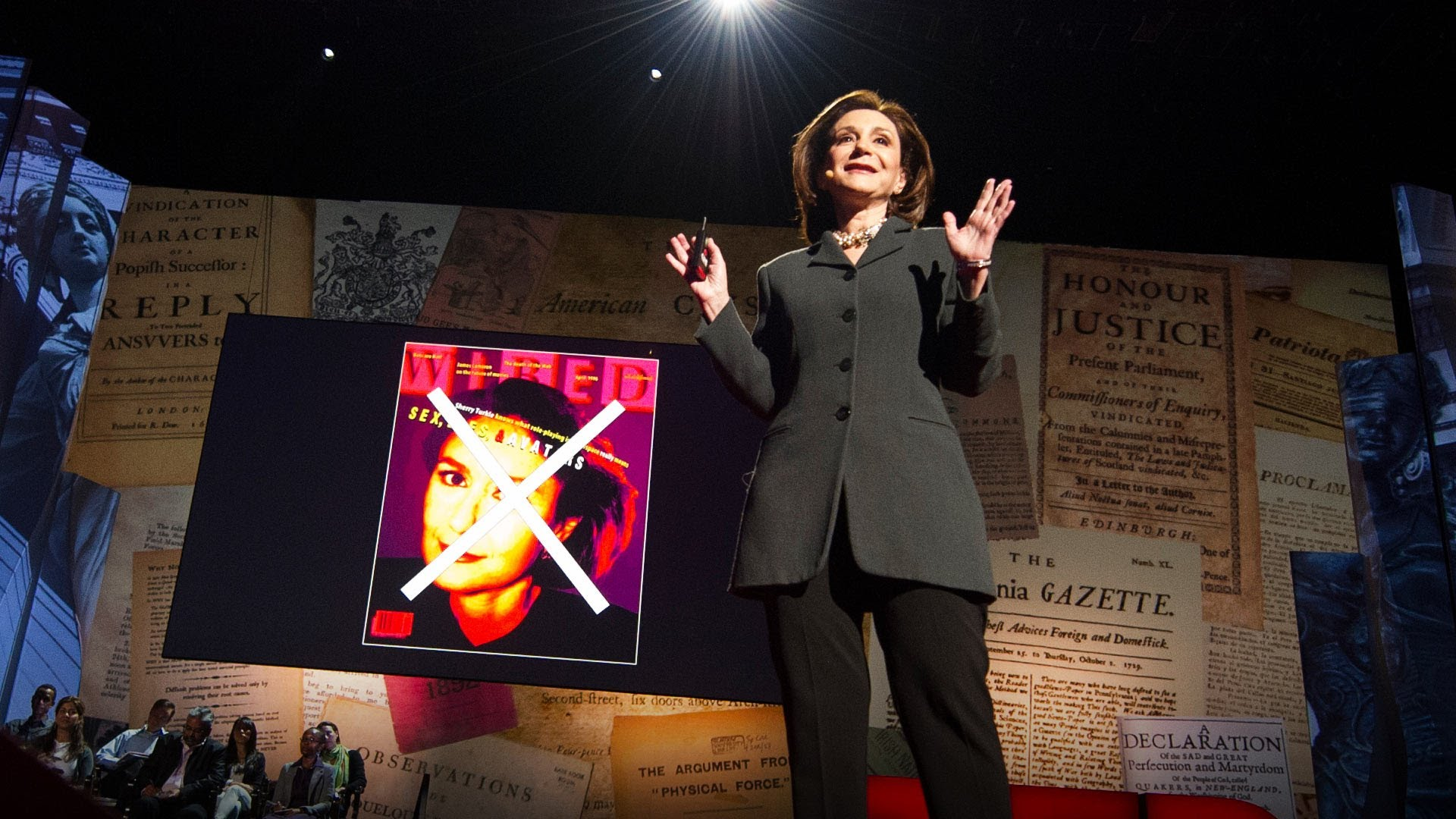 「Sherry Turkle:當我們連在一起,卻又獨自一人?」- Connected, but Alone?