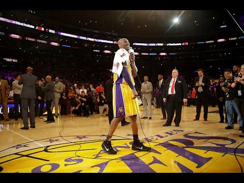 Kobe Bryant 生涯最終戰--賽後感言完整版