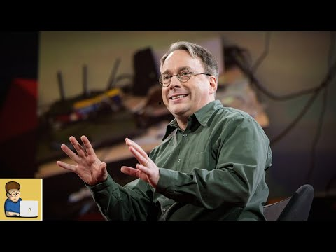 「Linus Torvalds:關於 Linux」- The Mind behind Linux