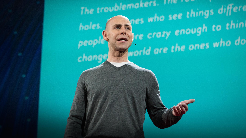 「Adam Grant:原創者的習性」- The Surprising Habits of Original Thinkers