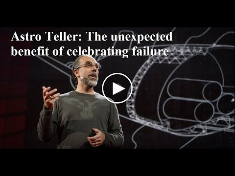 「Astro Teller:無懼失敗」- The Unexpected Benefit of Celebrating Failure