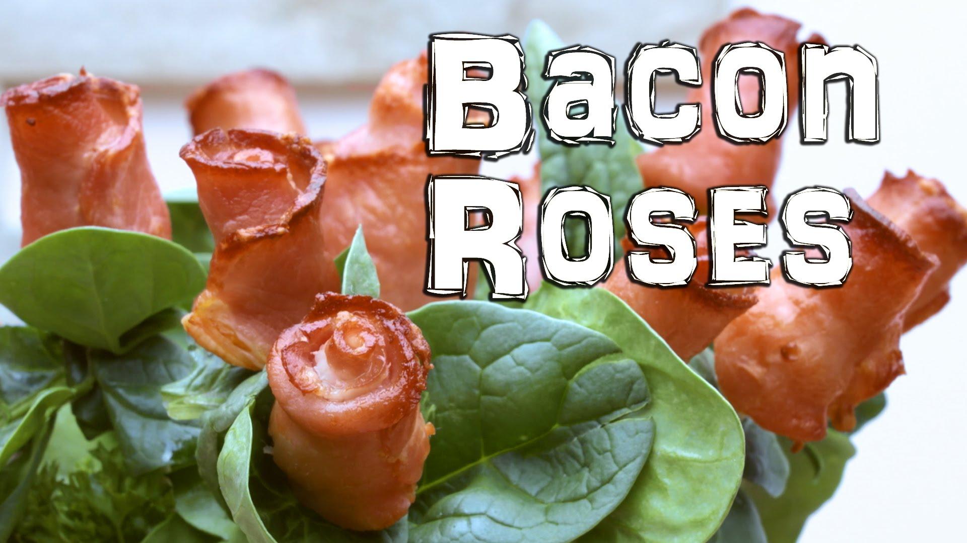 肉食者天堂:『培根』玫瑰輕鬆做!