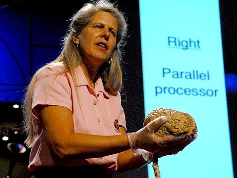 Jill Bolte Taylor:你腦內的兩個世界