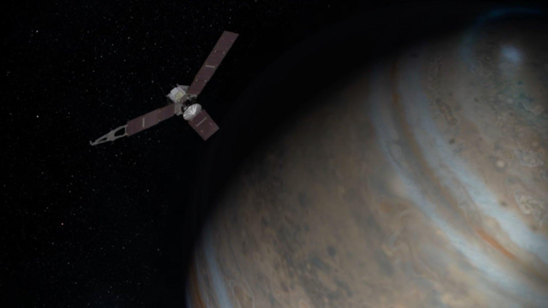 太空探索新里程:NASA 朱諾號抵達木星軌道
