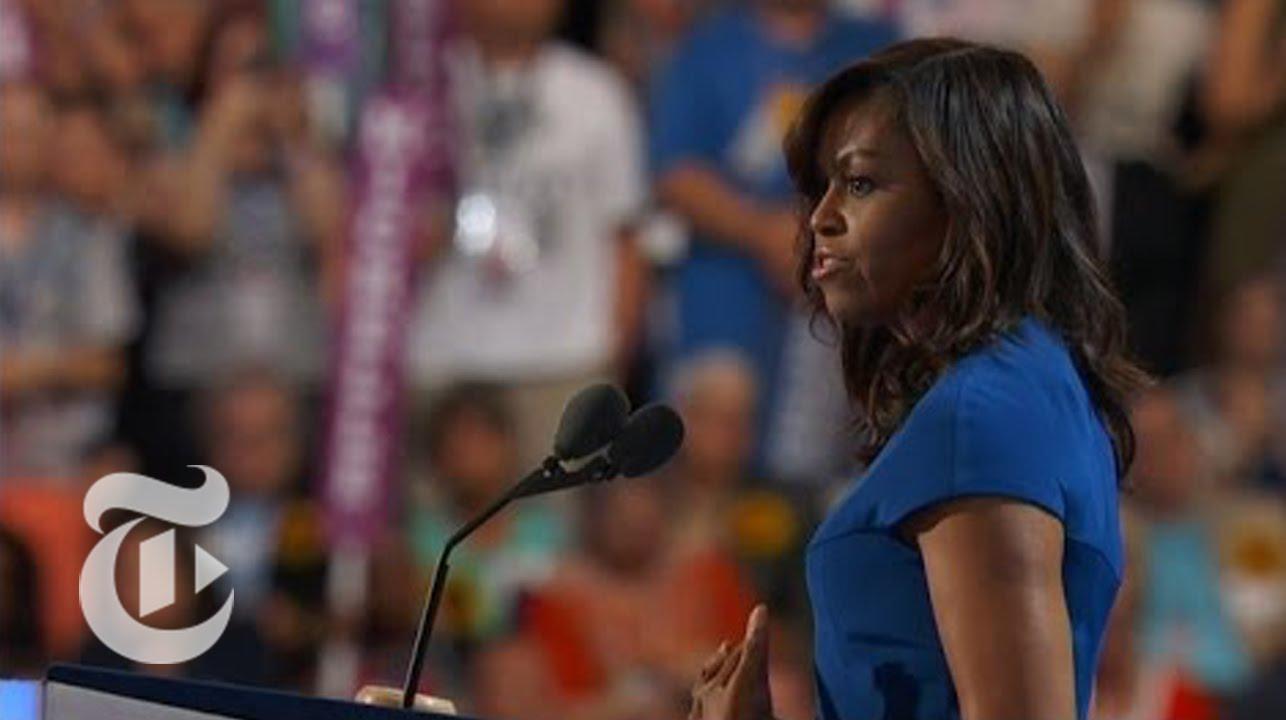「震撼全美!第一夫人蜜雪兒的完美演說」- Michelle Obama's Convention Speech