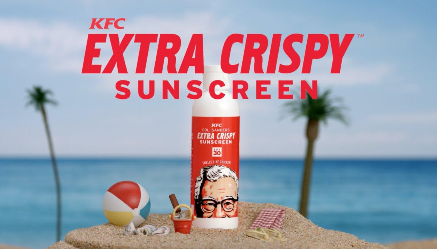 【絕對不是整人廣告】肯德基防曬乳,讓你像炸雞一樣香噴噴!