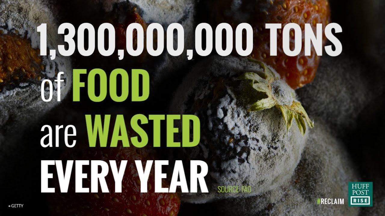 你知道人類每年浪費多少食物嗎?