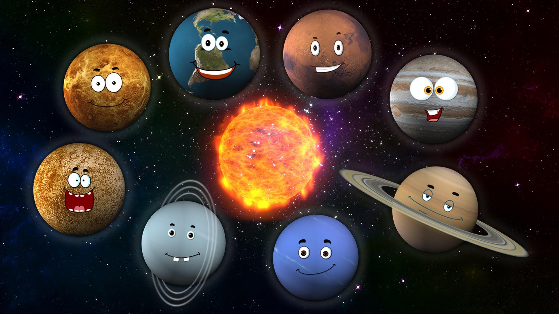 「一首歌教你太陽系八大行星」- Planets Song
