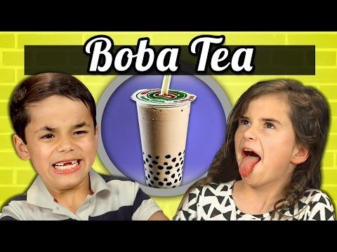 小朋友遇上異國美食:珍珠奶茶篇
