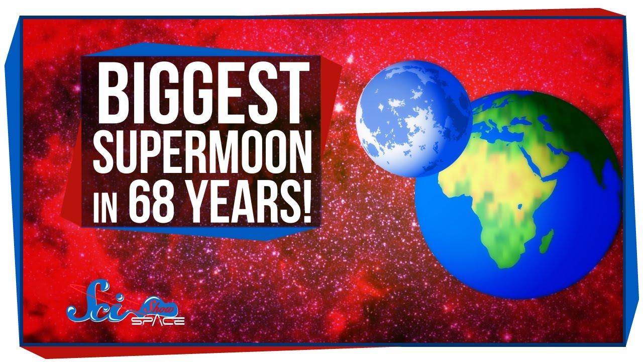就在今晚,68 年來最大的超級月亮!