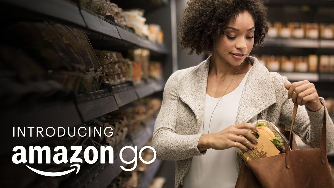 未來消費新樣貌?Amazon 打造『拿了就走』商店