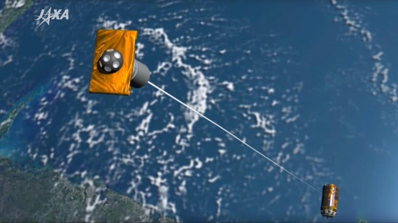 太空垃圾滿天飛,日本飛船扮演『清道夫』角色