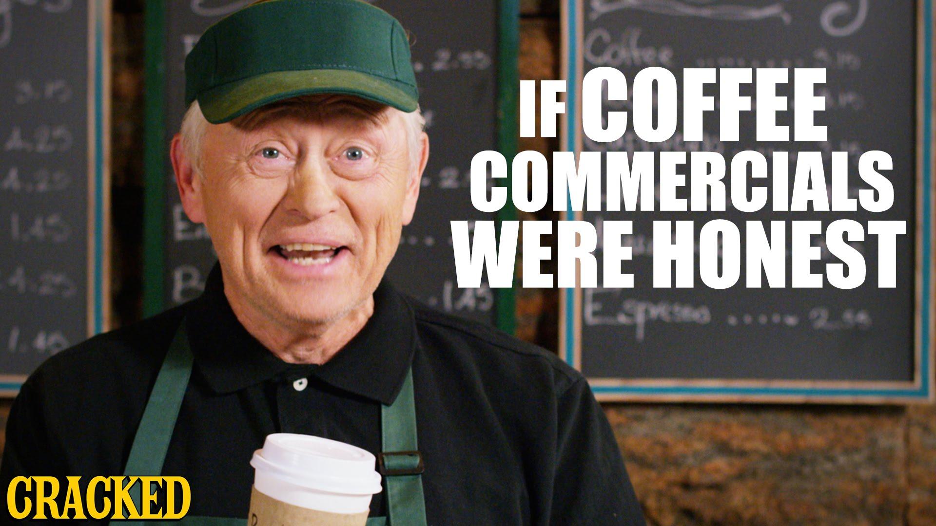 【超酸誠實咖啡廣告】再忙,也要跟你喝杯『中樞神經系統興奮劑』