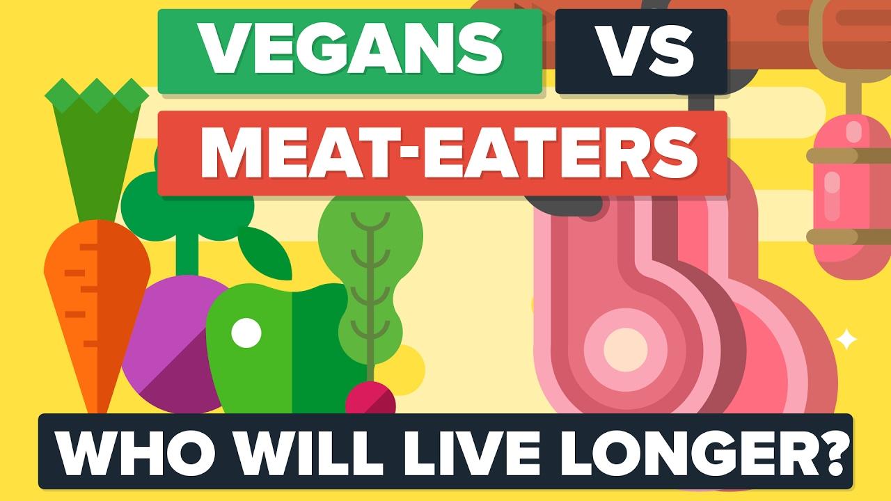 「純素主義者 vs. 肉食主義者--誰能活比較久?」- VEGANS vs MEAT EATERS—Who Will Live Longer?