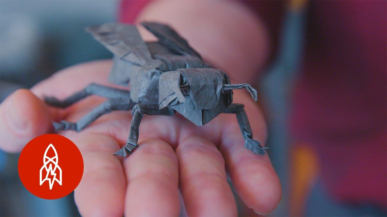 摺紙藝術也能上太空!Robert Lang 的瘋狂摺紙夢