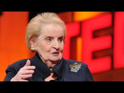 「Madeleine Albright:當一位女人和當一位外交官」-  On Being a Woman and a Diplomat