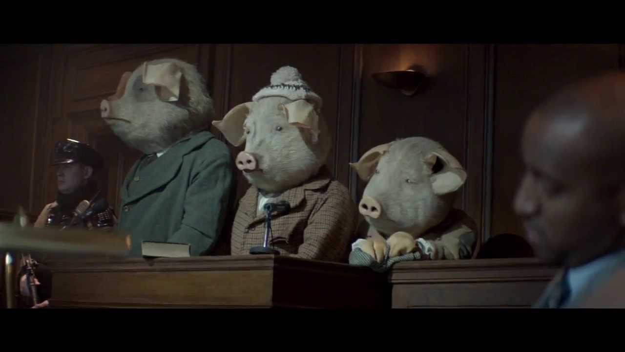 《衛報》廣告玩轉童話,這樣的《三隻小豬》結局太驚人!