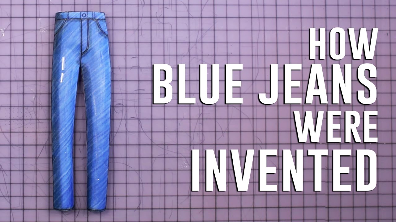 「【TED】經典不敗,牛仔褲的歷史」- How Blue Jeans Were Invented
