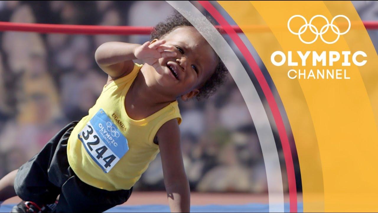 萌成這樣太犯規了!歡迎收看寶寶奧運頻道