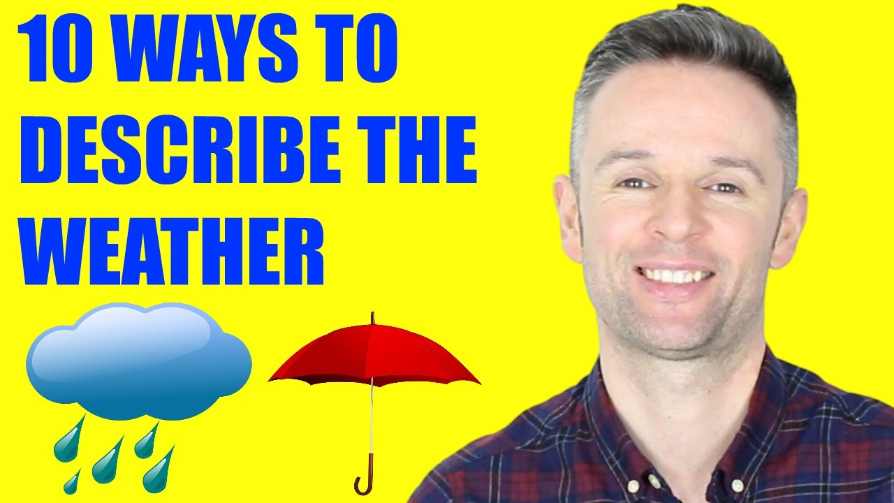 「這樣聊天氣更有意思!10 個進階天氣英文單字」- Advanced English Vocabulary: 10 Ways to Describe the Weather in More Detail