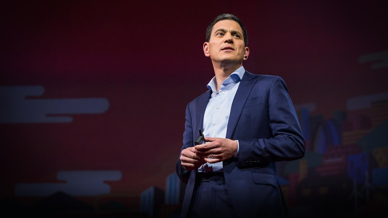 「David Miliband:難民危機是對人類品性的考驗」- The Refugee Crisis Is a Test of Our Character