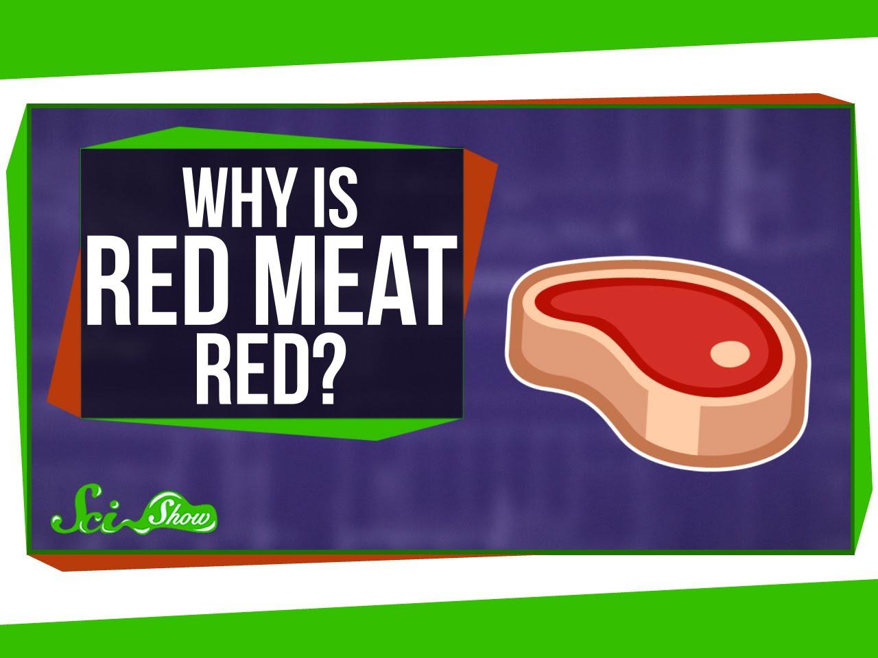 科學大哉問:為什麼紅肉是紅的?