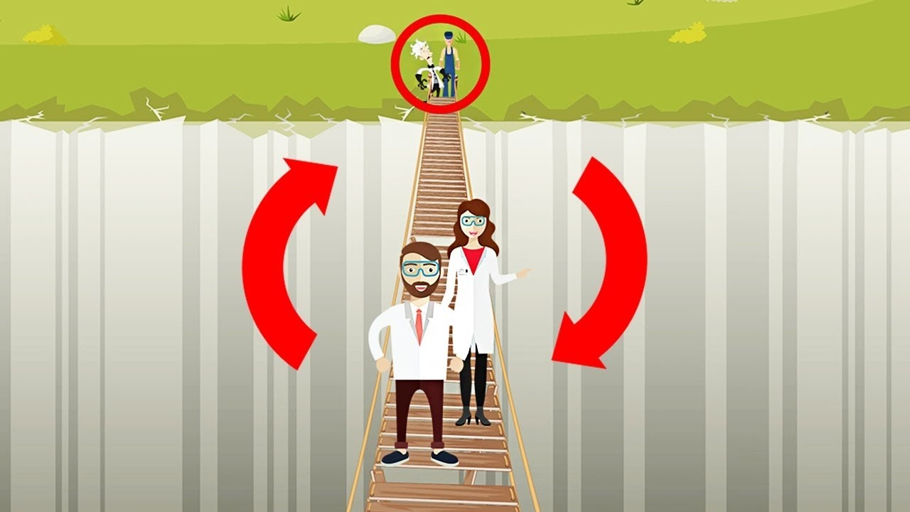 「【腦袋打結啦!】只有 5% 的人解得開的過橋謎題」- Only 5% Can Solve This Riddle