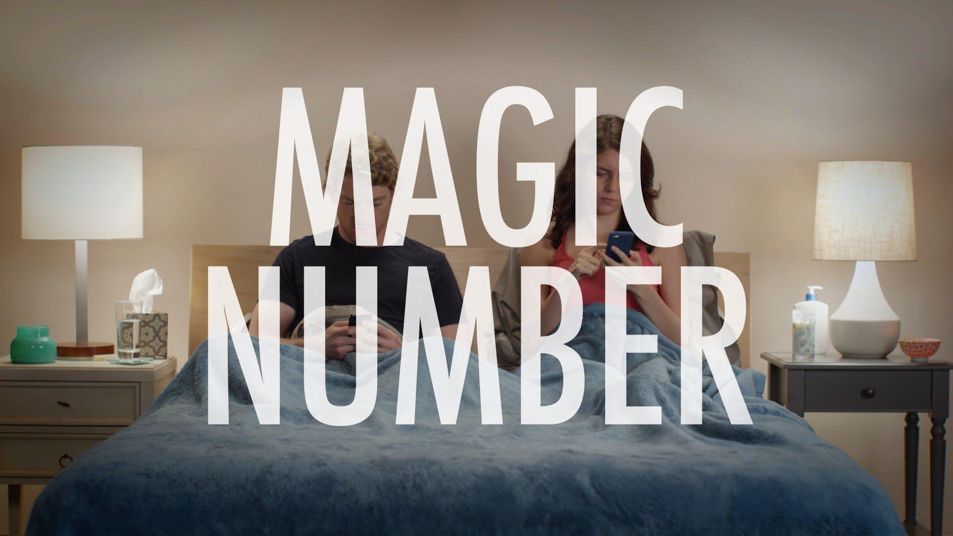 「情侶間不能說的『神奇數字』」- Magic Number