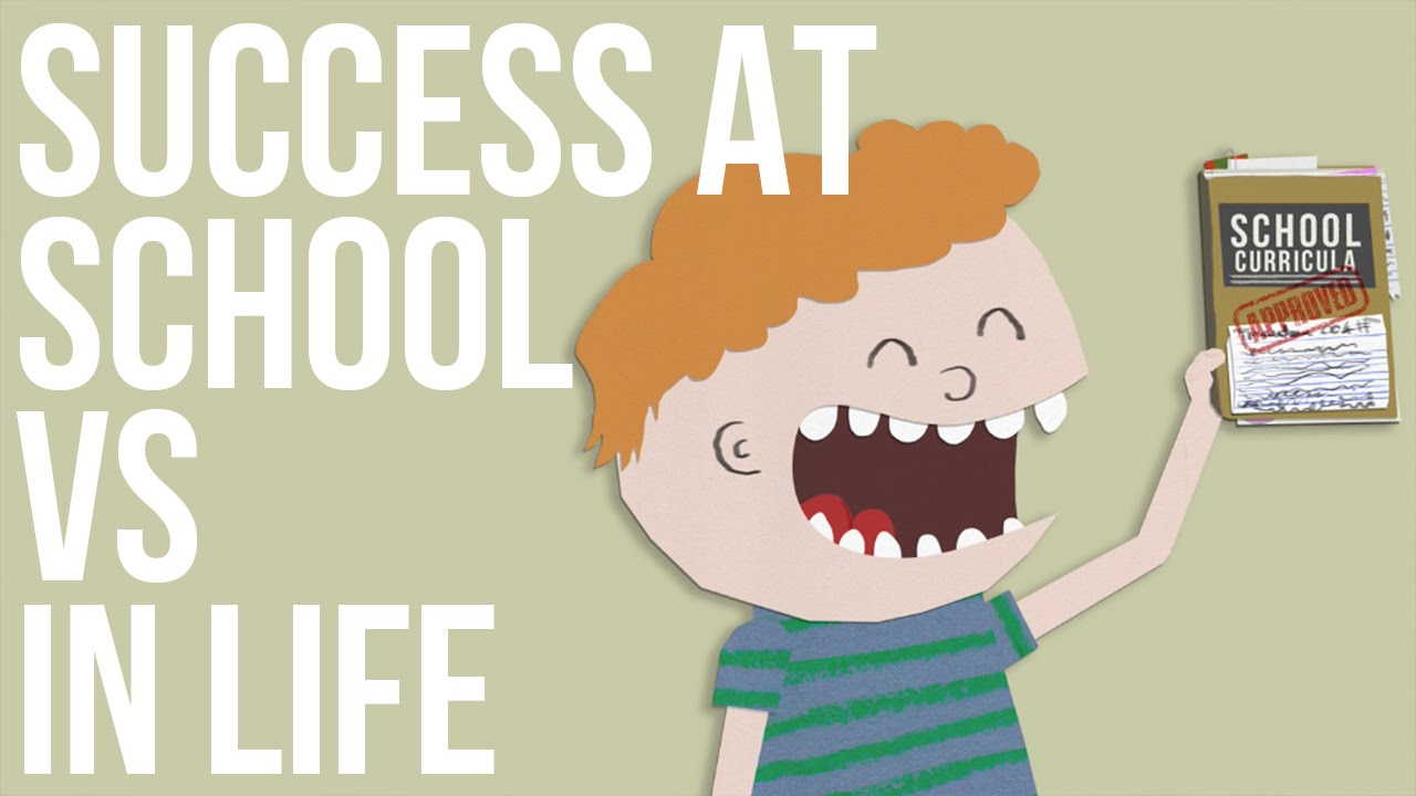 「100 分的成績等於 100 分的人生?」- Success at School vs. Success in Life