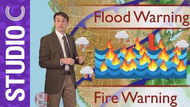 「【無厘頭狀況劇】不正經天氣預報」- Five-Day Weather Forecast