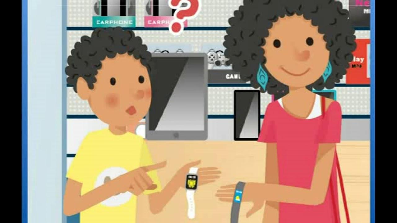 「翰林八年級下學期 Unit 1: The Gray Smartwatch Is Lighter than the White One」- Dialogue