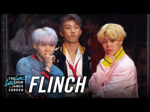 BTS 防彈少年團登上《深夜秀》,玩遊戲嚇到吃手手!