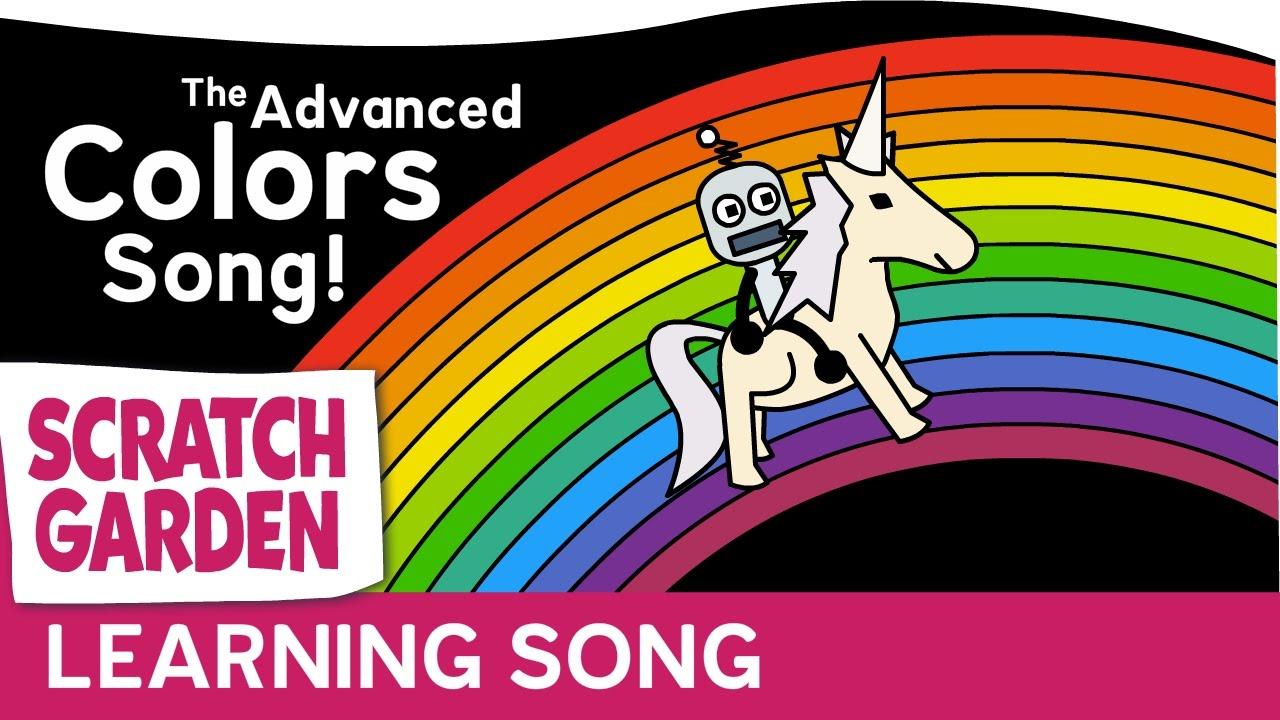 「一首歌帶你學會進階色彩英文」- The Advanced Colors Song