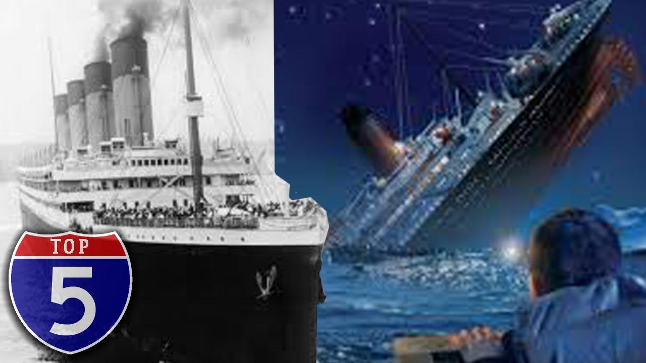 「關於鐵達尼號,你可能不知道的五件事」- Top-Five Strange Facts about the Titanic