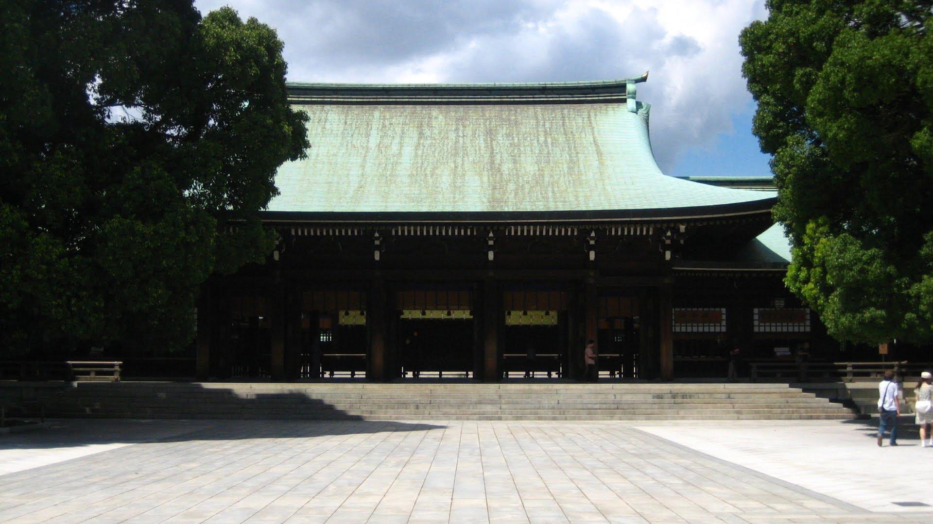探索日本--認識明治神宮