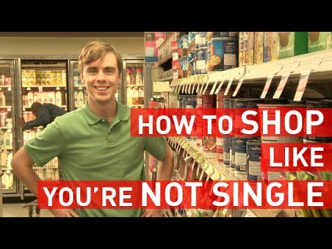 「跟著宅宅上超市買菜學英文」- Shopping for Groceries Like You're Not Single!