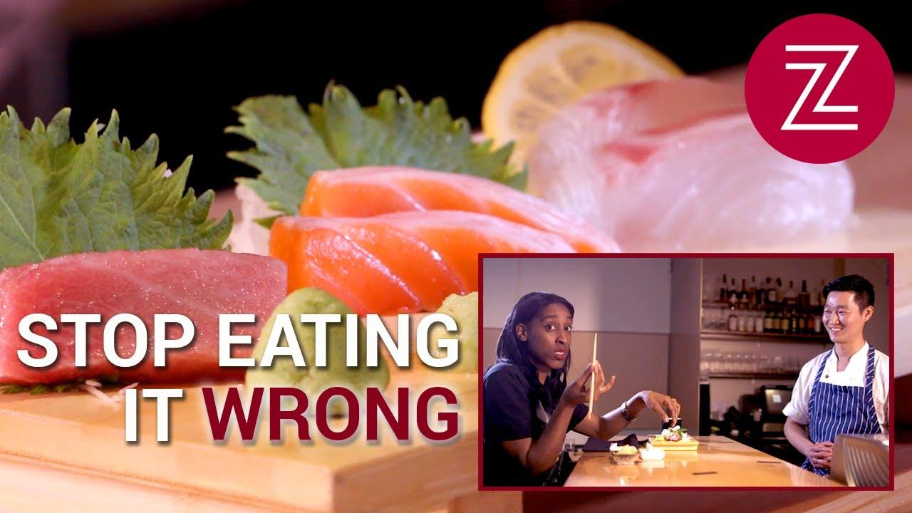 「【餐桌禮儀】你吃生魚片的方式正確嗎?」- The Proper Way to Eat Sashimi