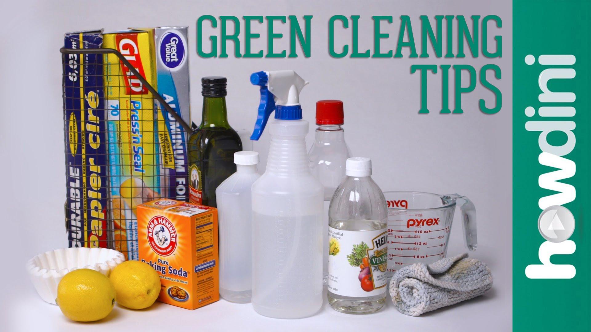 天然ㄟ尚好!大掃除必備的無毒清潔妙招
