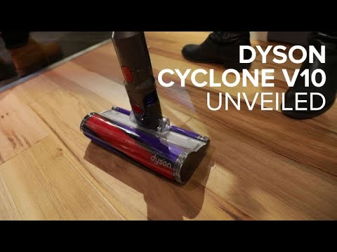 「想到國外扛最新 Dyson V10 就得看這篇!」- Dyson Cyclone V10 Cordless Vacuum Unveiled
