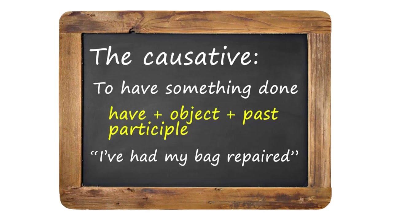 文法好簡單:當使役動詞遇上被動語態