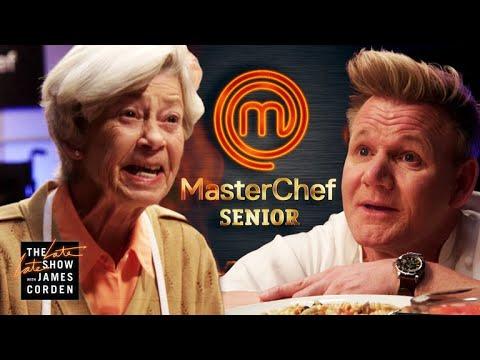 「全新《爺奶廚神當道》,假牙入菜把地獄廚神戈登嚇傻了!」- MasterChef Senior w/ Gordon Ramsay