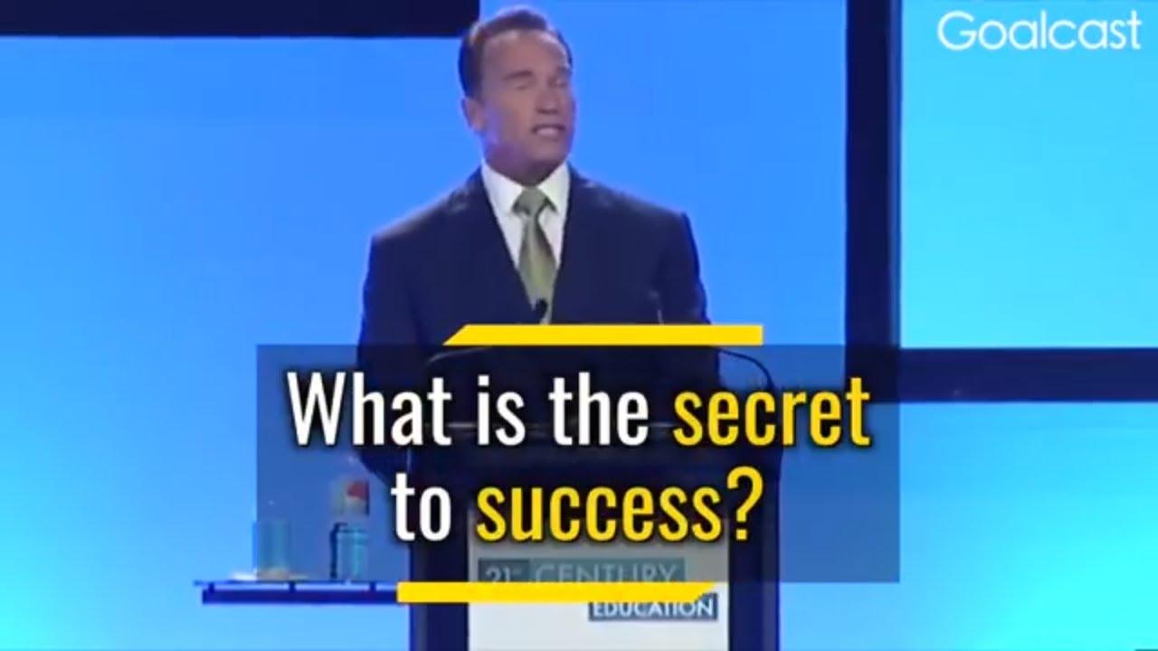【勵志演講】阿諾‧史瓦辛格:邁向成功的五大守則