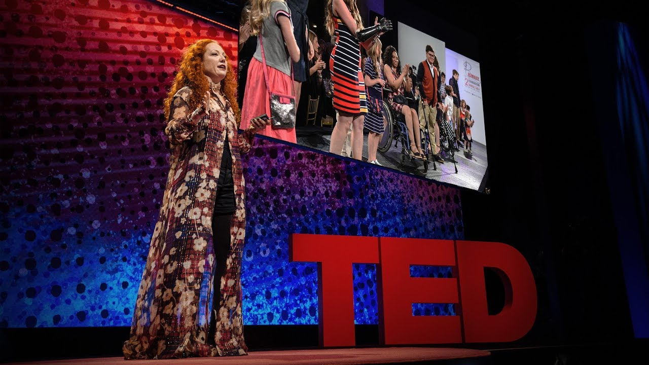 「Mindy Scheier:無障礙服裝如何幫助身障人士?」- How Adaptive Clothing Empowers People with Disabilities