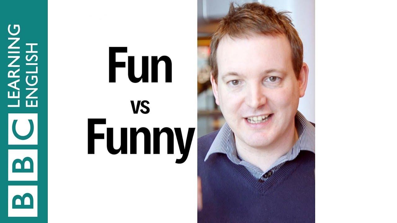真『有趣』!你知道 fun 和 funny 差在哪嗎?