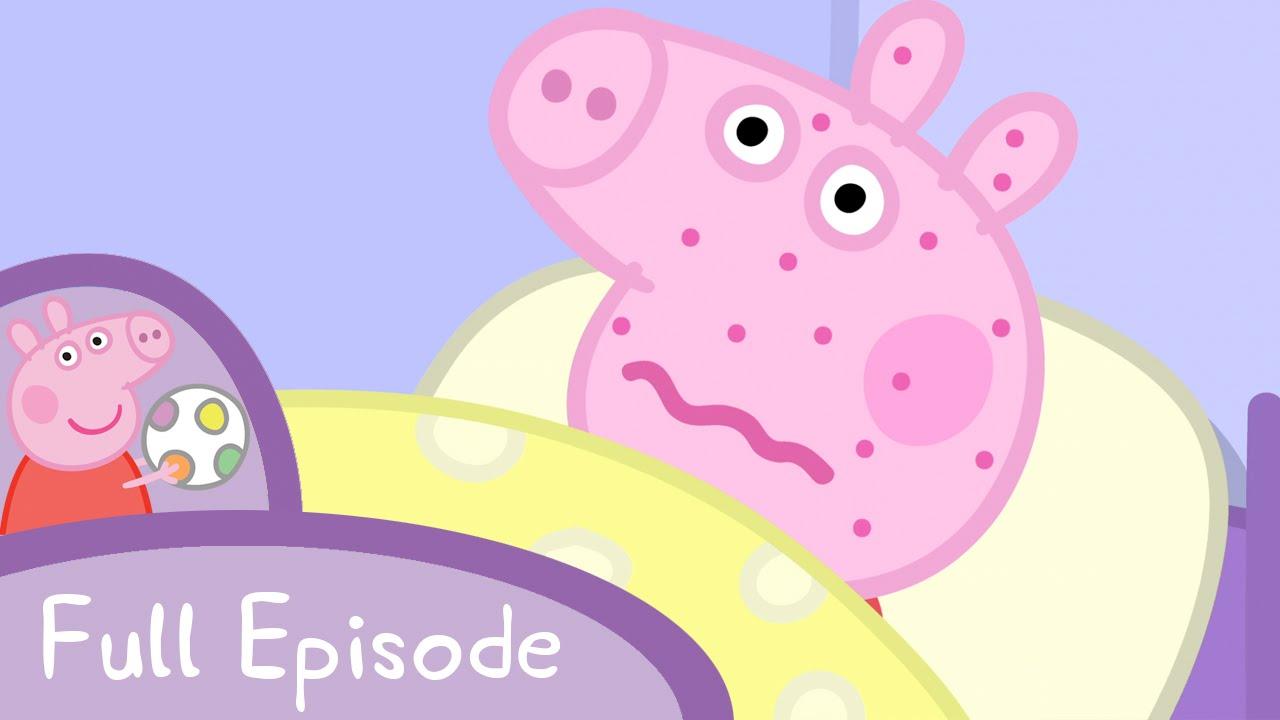 【看卡通學英文】佩佩豬生病了