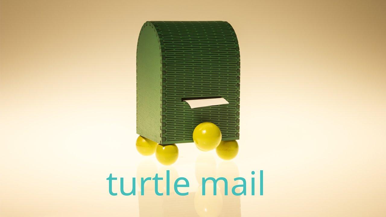 小烏龜信箱--讓親子連結的科技玩物