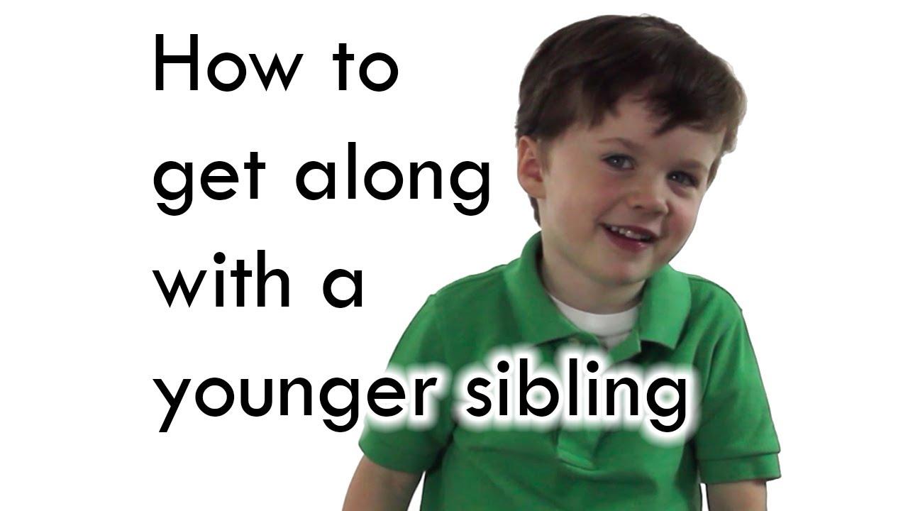 「超萌小底迪教你怎麼跟年紀更小的妹妹相處」- How to Get Along with a Younger Sibling