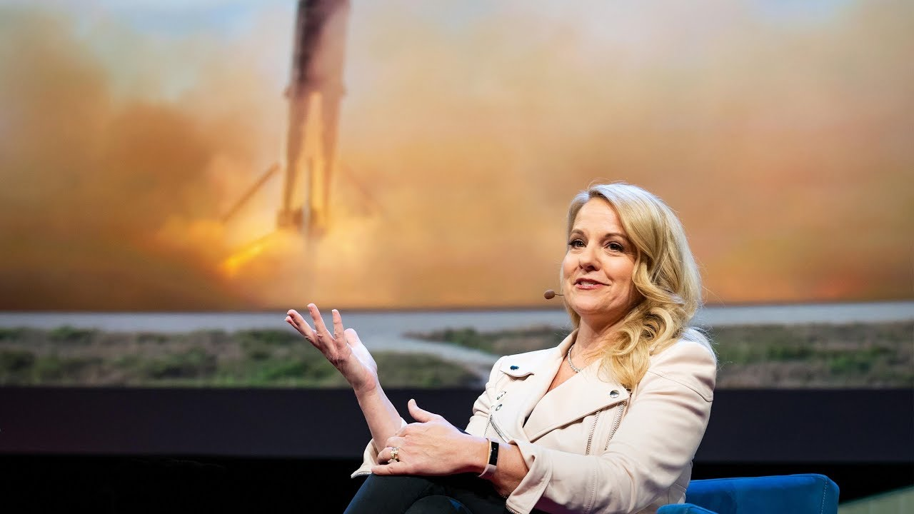 「Gwynne Shotwell:Spacex 計畫要在 30 分鐘內帶您環繞全球」- Spacex's Plan to Fly You Across the Globe in 30 Minutes