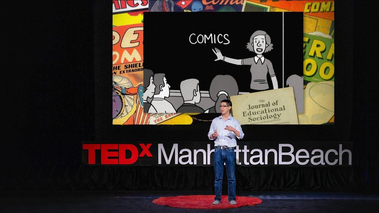 「Gene Luen Yang:讓漫畫回歸課堂」- Comics Belong in the Classroom